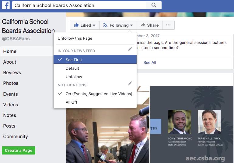 desktop facebook